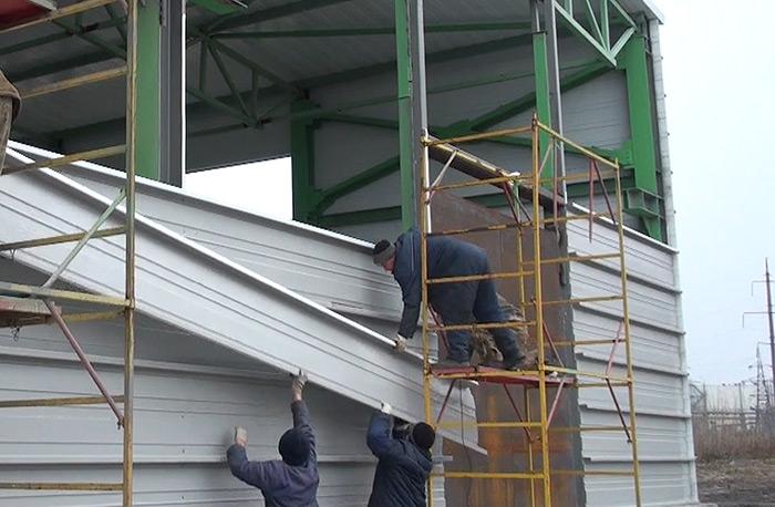 Инструкция по монтажу панелей стеновых